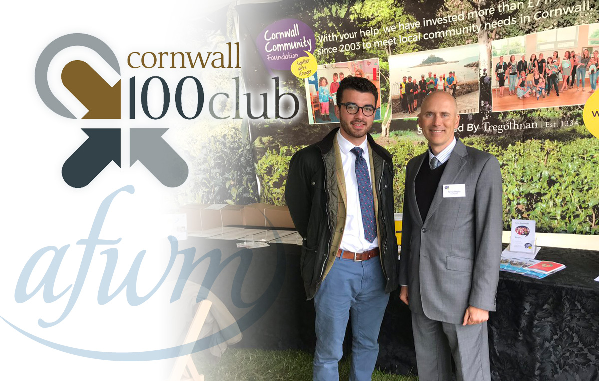AFWM is delighted to be working with the CCF's Cornwall 100 Club