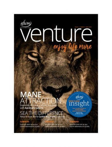 AFWM Venture March - May 2020